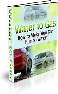 Ebook cover: Water to Gas