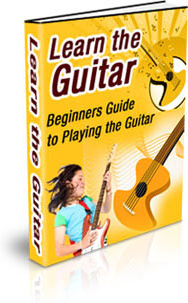 Ebook cover: Learn The Guitar
