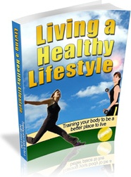 Ebook cover: Living a Healthy Lifestyle
