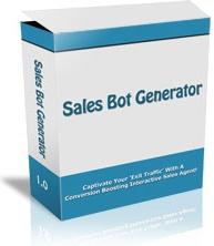 Ebook cover: Sales Bot Generator