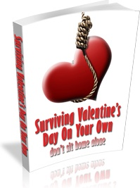 Ebook cover: Surviving Valentine's Day On Your Own