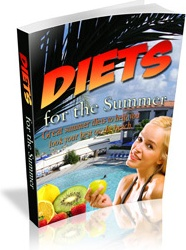 Ebook cover: Summer Diets