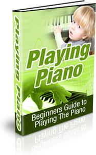 Ebook cover: Playing Piano