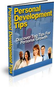 Ebook cover: Personal Development Tips