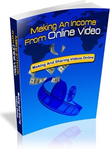 Ebook cover: Making an Income From Online Video