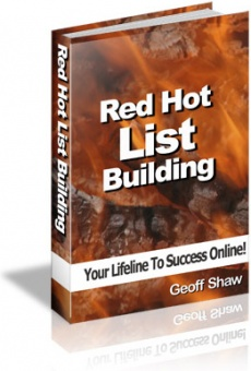 Ebook cover: Red Hot List Building