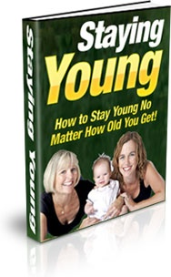 Ebook cover: Staying Young