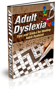 Ebook cover: Adult Dyslexia