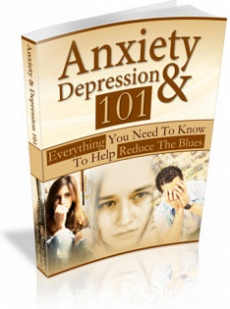 Ebook cover: Anxiety and Depression 101