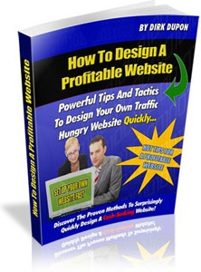 Ebook cover: How To Design A Profitable Website
