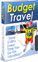 Ebook cover: Budget Travel
