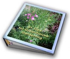 Ebook cover: 51 Tips for Greenhouse Gardening