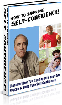 Ebook cover: How To Improve Self-Confidence