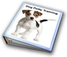 Ebook cover: Dog Potty Training