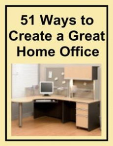 Ebook cover: 51 Ways to Create a Great Home Office