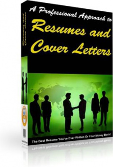Ebook cover: Impressive Resumes And Cover Letters