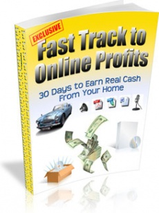 Ebook cover: Fast Track To Online Profits