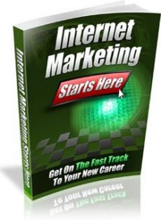 Ebook cover: Internet Marketing Starts Here