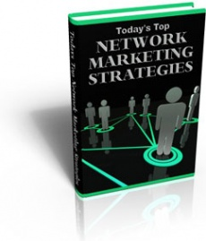 Ebook cover: Today's Top Network Marketing Strategies