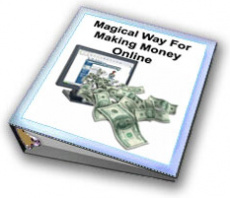 Ebook cover: Magical Way For Making Money Online