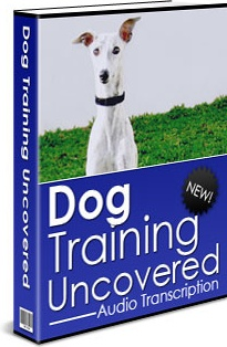 Ebook cover: Dog Training Uncovered - Audio Transcription