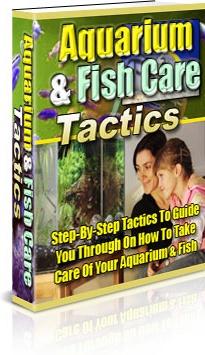 Ebook cover: Aquarium & Fish Care Tactics