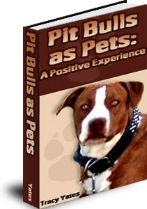 Ebook cover: Pit Bulls As Pets