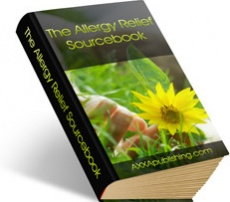 Ebook cover: The Allergy Relief Sourcebook