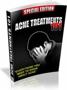 Ebook cover: Acne 101:  Everything You Need To Know