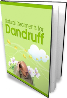 Ebook cover: Natural Treatments for Dandruff