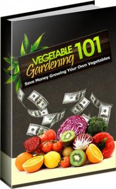 Ebook cover: Vegetable Garden 101