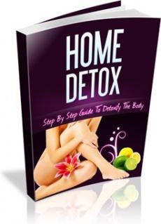 Ebook cover: Home Detox