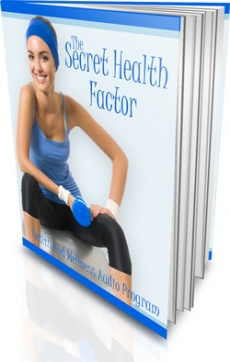 Ebook cover: The Secret Health Factor