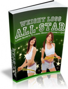 Ebook cover: Weight Loss All Star