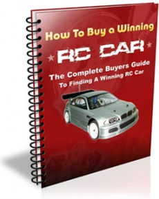 Ebook cover: How To Buy a Winning RC Car