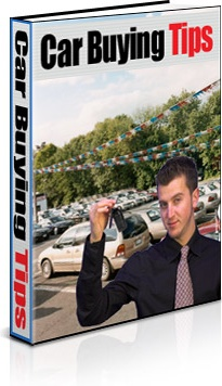 Ebook cover: Car Buying Tips