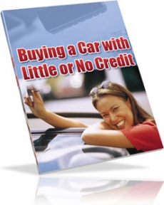 Ebook cover: How to Buy a Car with No Credit or Bad Credit