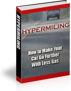 Ebook cover: Hypermiling: How to Make Your Car Go Further with Less Gas