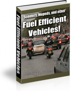 Ebook cover: Scooters, Mopeds, and Other Fuel Efficient Vehicles