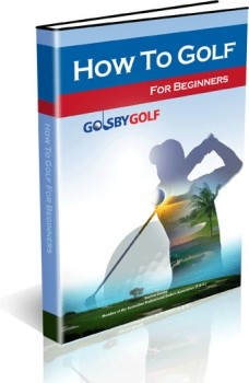 Ebook cover: How To Golf Beginner Guide