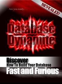 Ebook cover: Database Dynamite