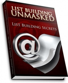 Ebook cover: List Building Unmasked