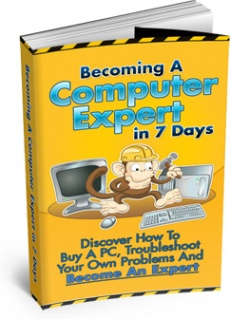 Ebook cover: Becoming A Computer Expert In 7 Days