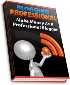 Ebook cover: Blogging Professional