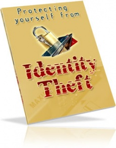 Ebook cover: Protect Yourself From Identity Theft