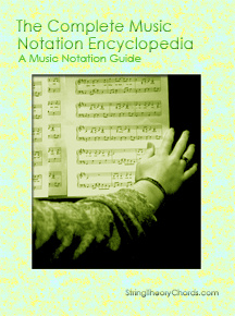 Ebook cover: The Complete Music Notation Encyclopedia