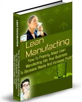 Ebook cover: Lean Manufacturing