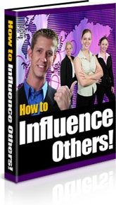 Ebook cover: How to Influence Others!