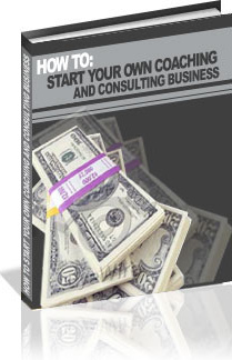 Ebook cover: How To Start Your Own Coaching/Consulting Business!