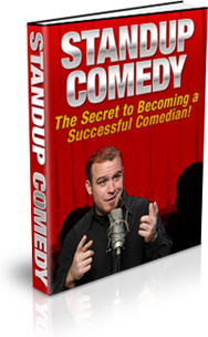 Ebook cover: Standup Comedy